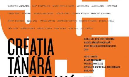 Expoziția Creația Tânără Europeană / Jeune Création Européenne JCE @ Fundația Culturală Intact
