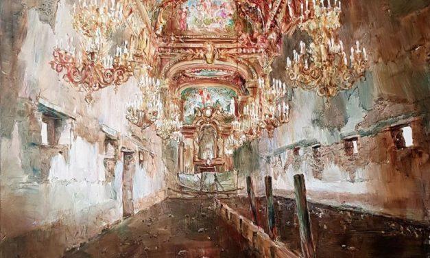 """Expoziţia personalăGheorghe Fikl """"Tavane"""" @ galeria AnnArt, București"""