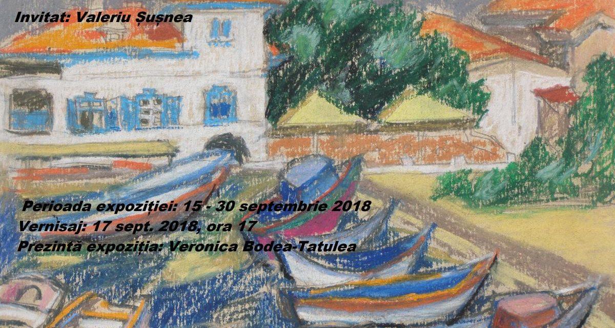 """""""Gânduri plastice"""" – Ioan Oratie @ Galeria Europe a Uniunii Artiștilor Plastici, Filiala Brașov"""