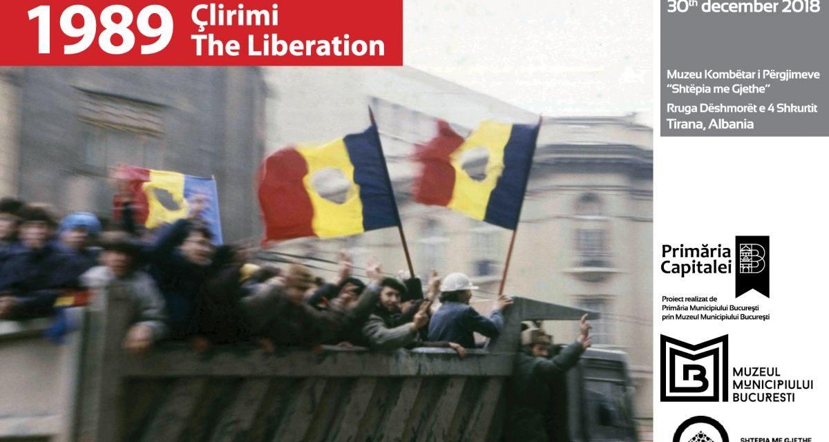 """Muzeul Municipiului București vernisează la Tirana expoziția """"1989 – Eliberarea"""""""