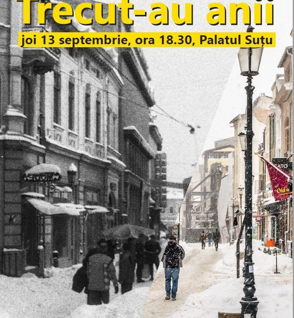 """O nouă expoziție outdoor la Palatul Suțu: """"Bucureștiul '90 – Bucureștiul 2018"""""""