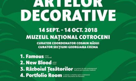 Salonul Artelor Decorative revine la Muzeul Național Cotroceni