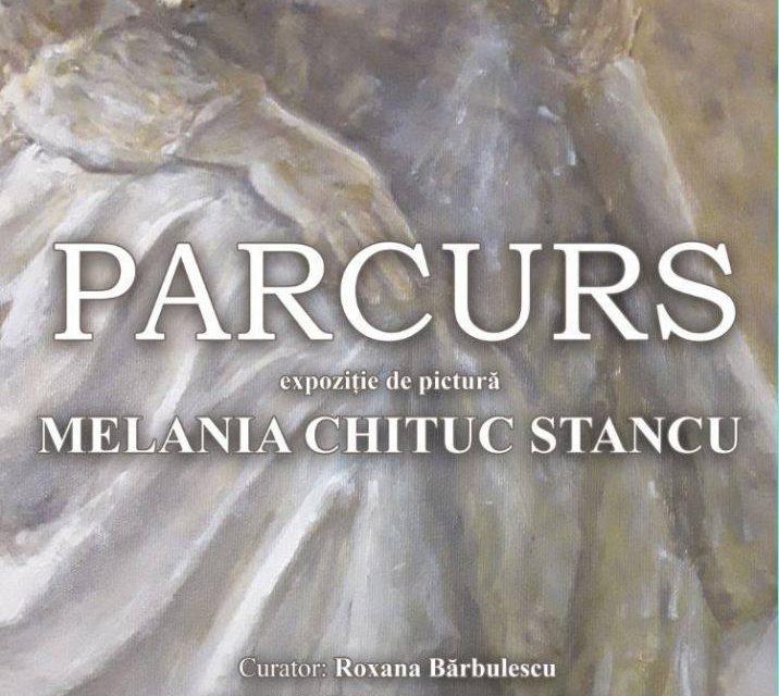 """Expoziția personală de pictură Melania Chituc Stancu """"PARCURS"""" @ Biblioteca Națională a României"""