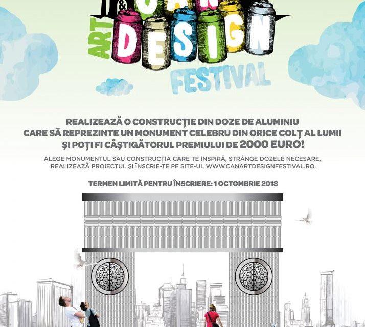 Se apropie data de încheiere a înscrierilor pentru Concursul Can Art&Design Festival