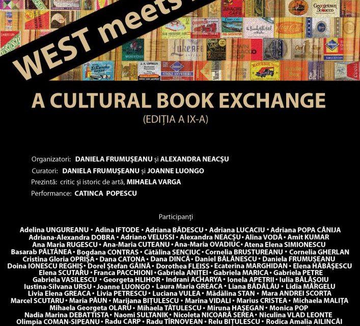 Expoziţia internaţională de carte-obiectWEST MEETS EAST 2018 – A Cultural Book Exchange (ediţia a IX-a) @ Piaţa Spania Gallery, București