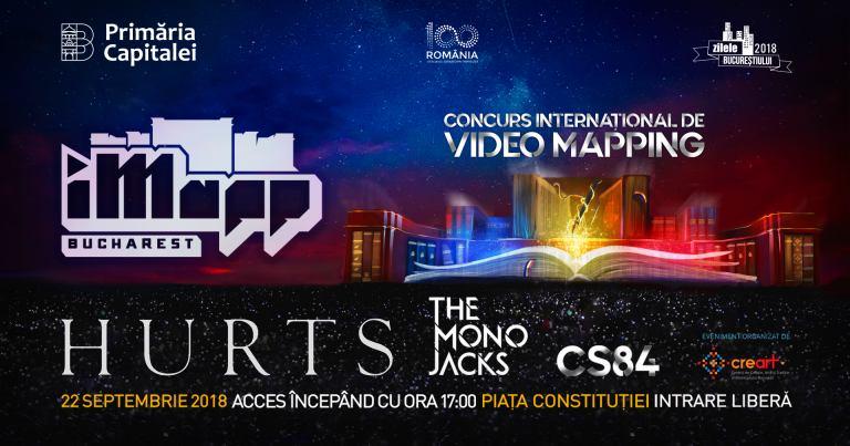 iMapp Bucharest & concert HURTS @ Piața Constituției, București