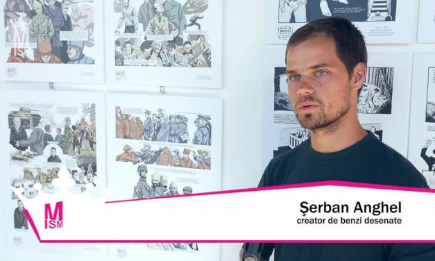 Șerban Anghel – Documentarele artelor grafice românești & BD
