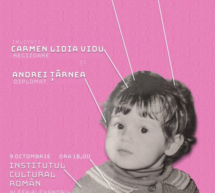 """Carmen Lidia Vidu deschide seria evenimentelor """"Portretele artiştilor la maturitate"""" la Institutul Cultural Român"""