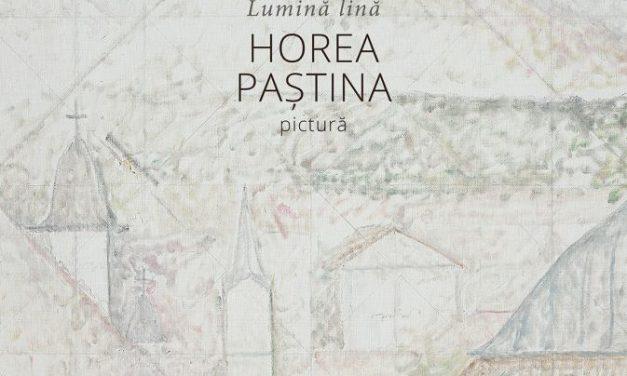 Expoziția LUMINĂ LINĂ a pictorului HOREA PAȘTINA @ Zalău
