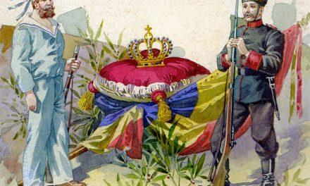 Coroana regală a României expusa in cadrul FNT 2018