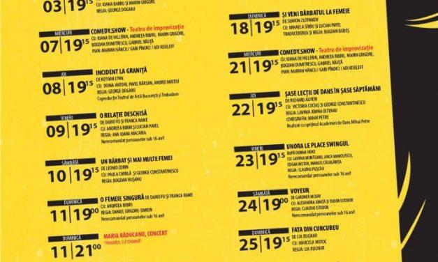 Luna noiembrie aduce o nouă premieră, la Teatrul de Artă București
