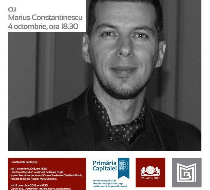 Conferințele de joi de la Palatul Suțu se reiau cu o prezentare dedicată jurnalismului cultural și interviului de televiziune
