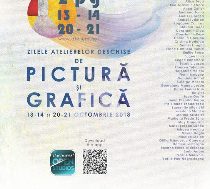 Zilele Atelierelor Deschise de Pictura si Grafica, Bucuresti 13/14 octombrie 2018