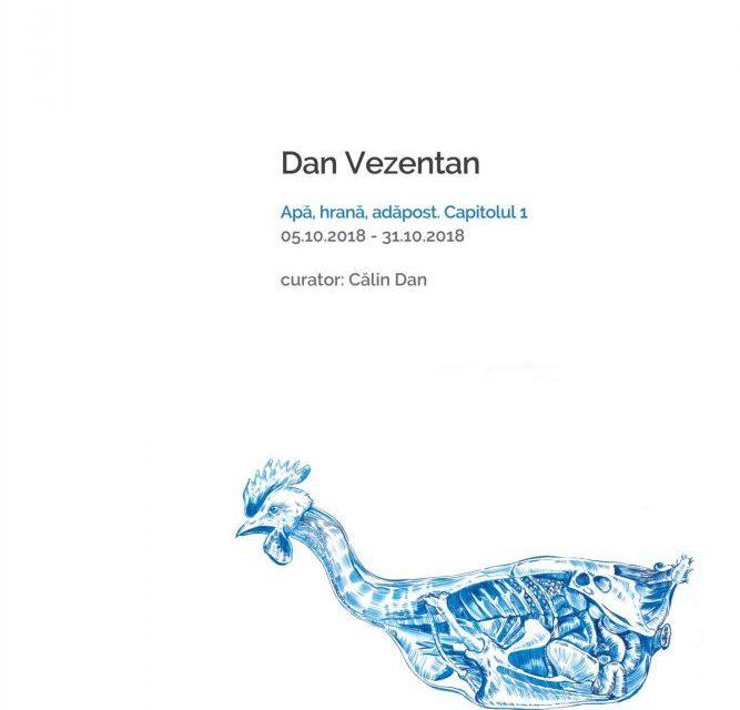 Dan Vezentan: Apă, hrană, adăpost. Capitolul 1 @ Joy's, Arad