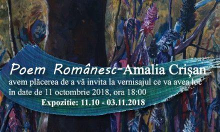 """Expoziţia """"Poem Românesc"""" a artistei Amalia Crișan @ Galeria IAGA, Cluj-Napoca"""