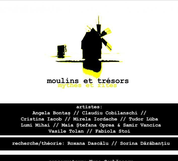 """Expoziția """"Mori și comori"""" @ Primăria din Chalabre, Franța"""