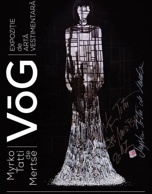 """Expoziția de artă vestimentară """"VÕG"""", semnată de artistulMyrko Tatii de Mertse @ Bastionul Theresia, Timișoara"""