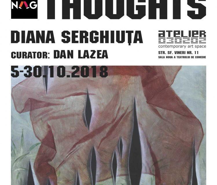 """Expoziție Diana Serghiuță """"Missing Thoughts"""" @ ATELIER 030202, București"""