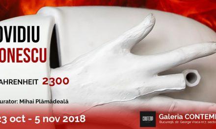"""Expoziție Ovidiu Ionescu """"Fahrenheit 2300"""" @ Galeria CONTEMP, București"""