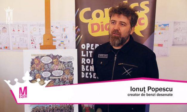 Ionuț Popescu – Documentarele artelor grafice românești & BD