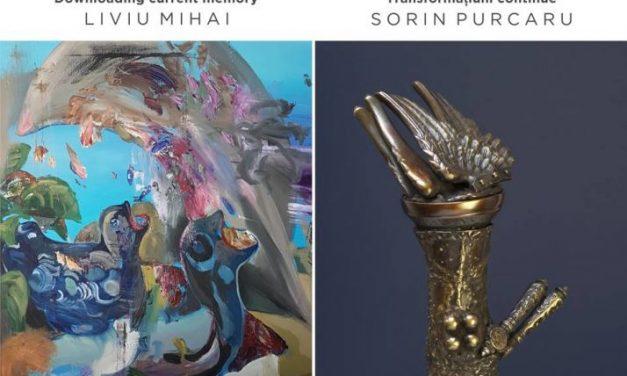 """Liviu Mihai – """"Downloading current memory"""" & Sorin Purcaru – """"Transformațiuni continue"""" @ Art Yourself Gallery, București"""