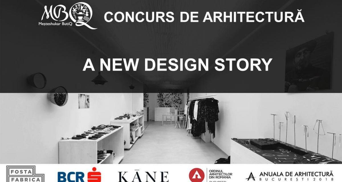 Meșteshukar ButiQ lansează un concurs pentru tinerii arhitecți, de reamenajare a magazinului propriu
