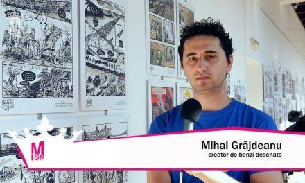 Mihai Grăjdeanu – Documentarele artelor grafice românești & BD