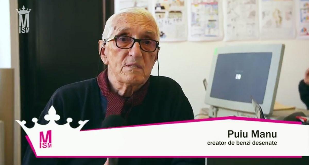 Puiu Manu – Documentarele artelor grafice românești & BD