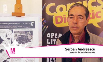 Șerban Andreescu – Documentarele artelor grafice românești & BD
