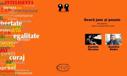 Jazz și poezie cu Daniela Nicolae și Dumitru Bădița @ Galeria Întâlnirilor