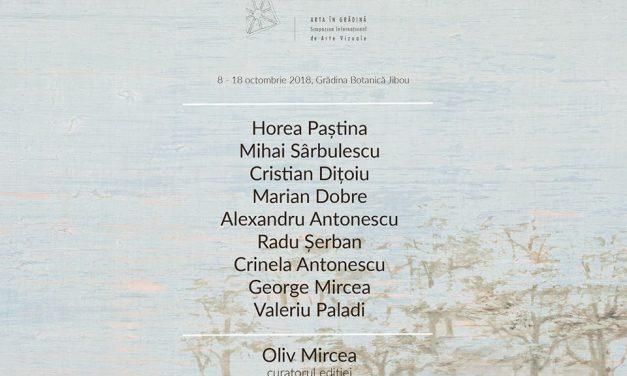Simpozionul Internațional de Arte Vizuale ARTA ÎN GRĂDINĂ, ediția a VII-a