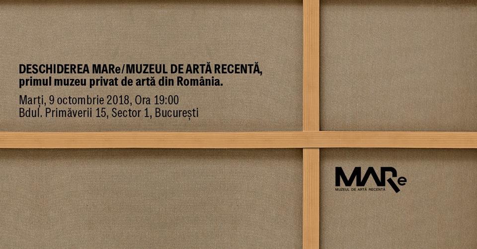 Inaugurare MARe/Muzeul de Artă Recentă