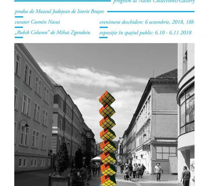 Monumente în mișcare – patrimoniu dispărut la Brașov: sculpturi monumentale contemporane plasate temporar pe spații de monumente dispărute