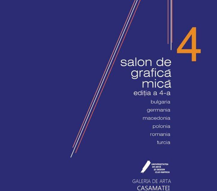 """Salon de grafică mică """"A4, expoziție de desene si schițe de artist"""" @ Galeria CasaMatei, Cluj-Napoca"""