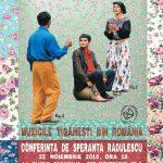 CONFERINȚĂ DE ETNOMUZICOLOGIE Muzicile țigănești din România @ Muzeul Național al Țăranului Român