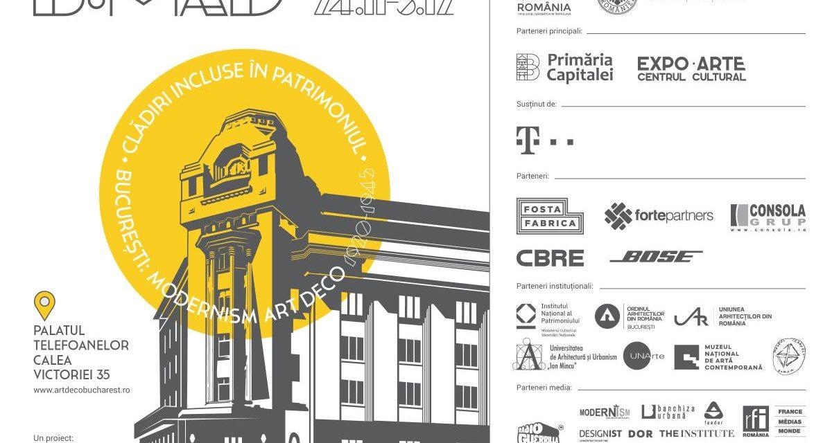 """igloo prezintă: proiectul """"B:MAD – București: Modernism Art Deco"""" @ Palatul Telefoanelor, București"""