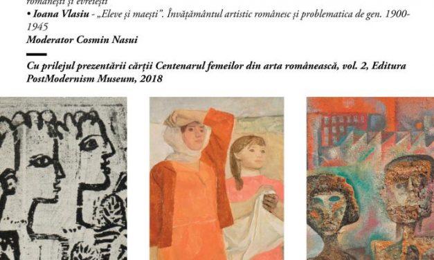 Conferință și carte: Centenarul femeilor in arta românească 2