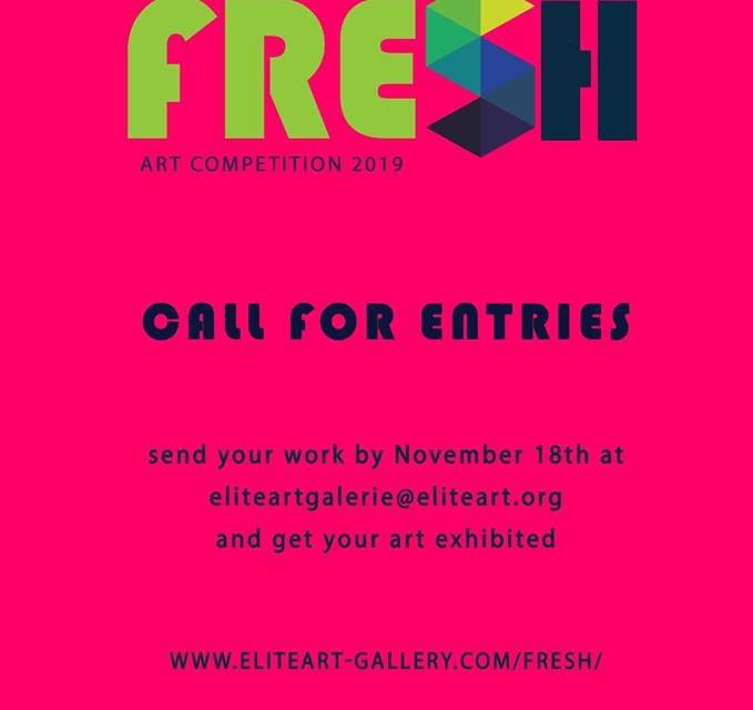 Competiție FRESH Elite Art Gallery