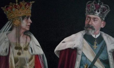 """Artă contemporană despre trecut: eveniment expozițional Daniel Brici, seria """"Ctitorii Unirii"""" la Primăria Caransebeș"""