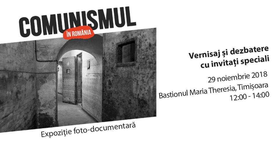 Expoziţia Comunismul în România se mută la Timişoara