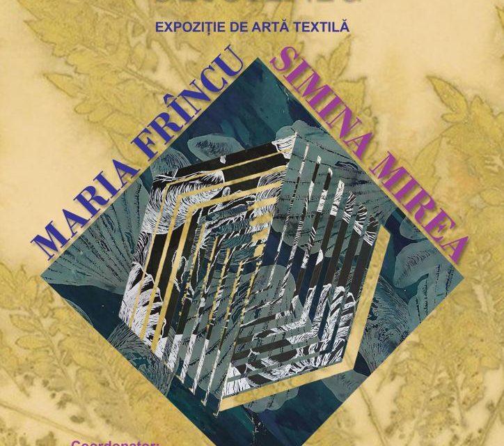 """Expoziţia de artă textilă """"ORGANIC"""", Maria Frîncu și Simina Mirea @ Centrul Cultural Mihai Eminescu, București"""