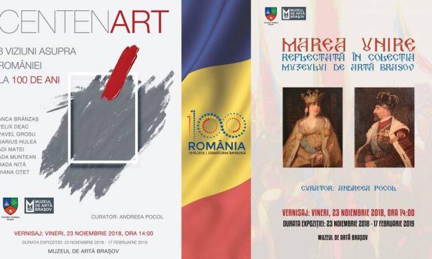 Expozițiile Centenart şi Marea Unire (colecţia Muzeului de Artă) @ Muzeul de Artă Braşov