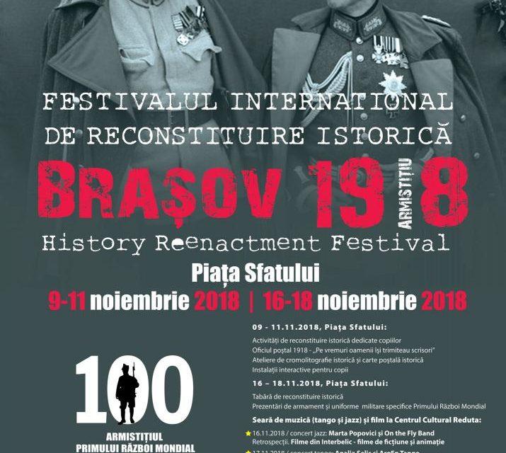 Festivalul Internațional de Reconstituire Istorică Brașov 2018 ediția a III-a
