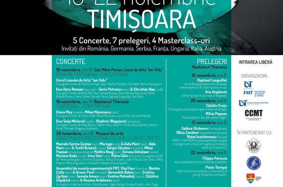 Festivalul Internațional de Muzică Contemporană TIMSONIA, a doua ediție
