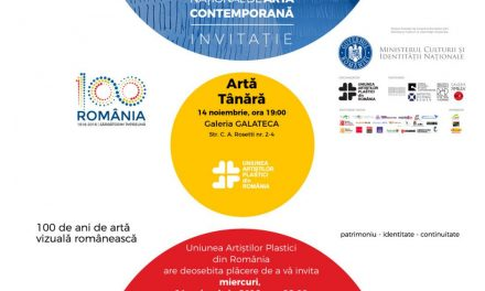 Salonul Național de Artă Contemporană Artă Tânără – la Galeria Galateca, Bucureşti