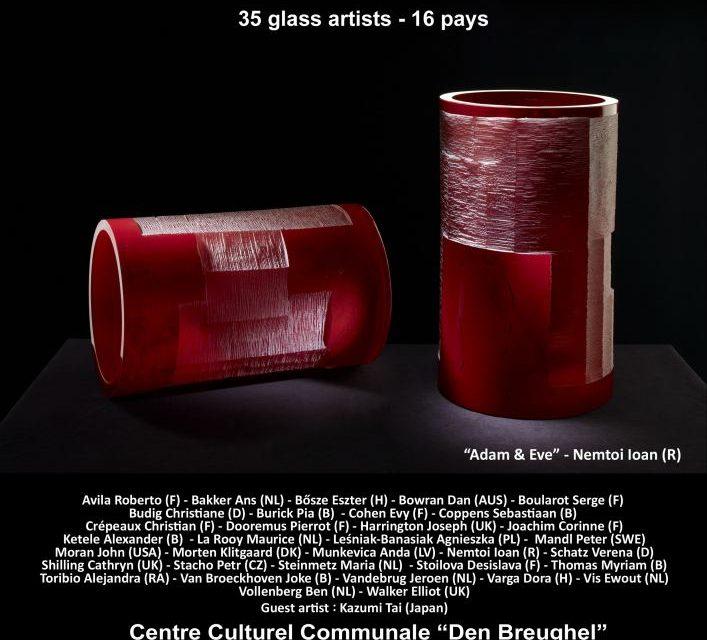 Ioan Nemțoi reprezintă România la Bienala internațională de artă pe sticlă de la Haacht (Belgia)
