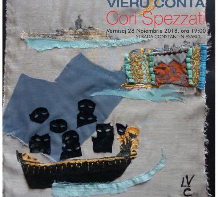 "Expoziția Lena Vieru Conta ""Cori Spezzati"" @ Rotenberg-Uzunov Art Gallery, București"