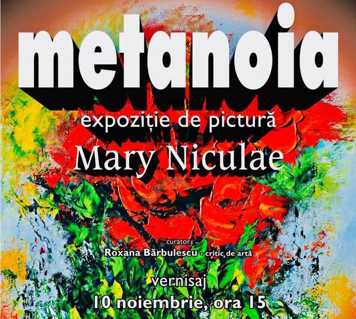 """Mary Niculae """"Metanoia"""" @ Biblioteca Națională a României"""