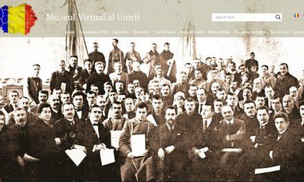 Lansarea proiectului digital dedicat Centenarului Desăvârșirii Unității Naționale, Muzeul Virtual al Unirii, de către Muzeul Național de Istorie a României