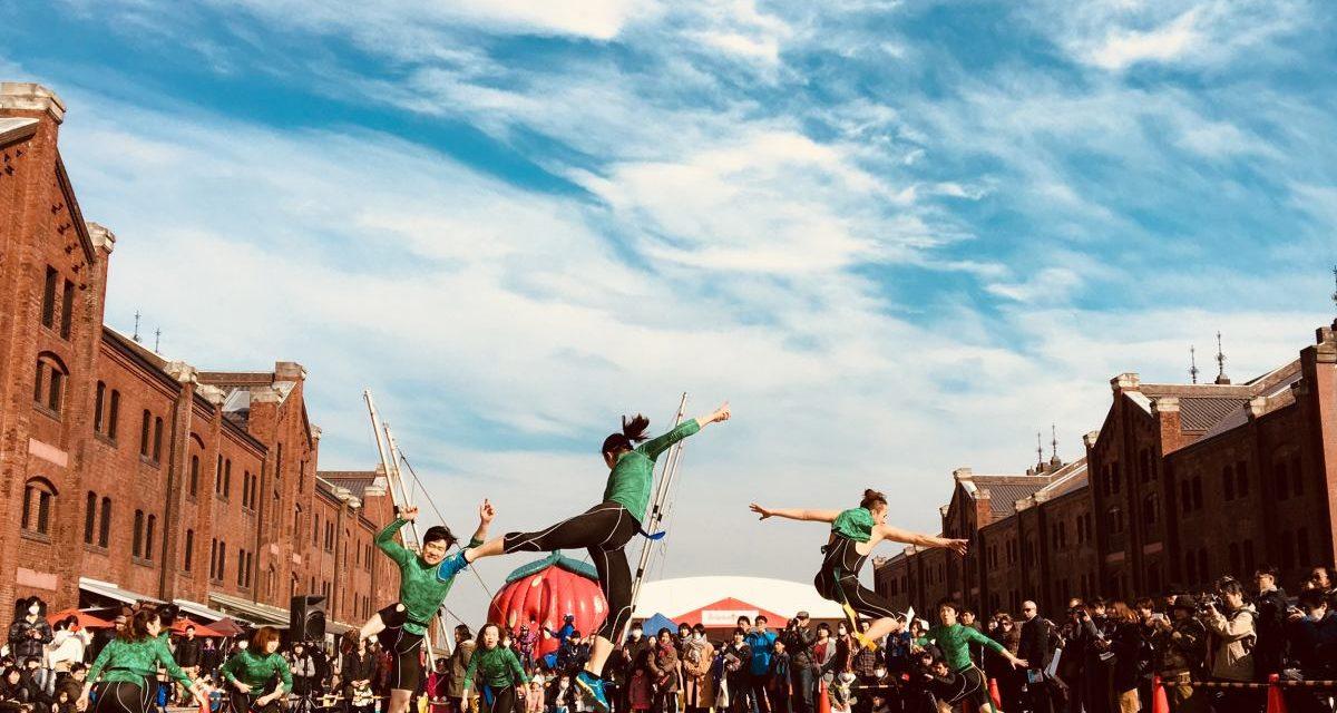 """""""Monumente în mișcare – patrimoniu dispărut"""" – performance outdoor compania Miyazaki C-Dance Center din Japonia"""